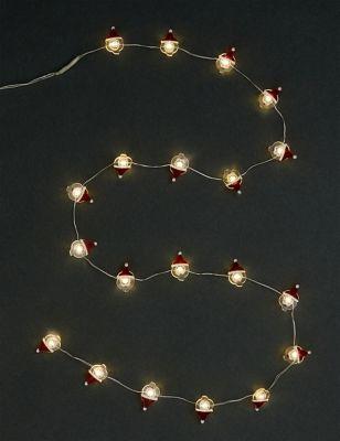 20 Santa Battery Wire Lights