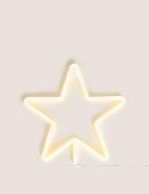 Neon Light Up Star