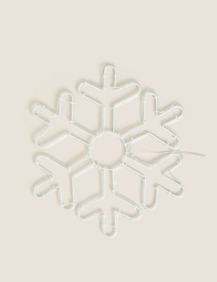 Light Up Snowflake Room Decoration