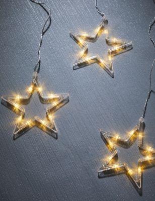 Hanging Star Battery Lights