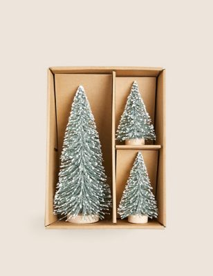 3 Pack Christmas Tree Room Decorations