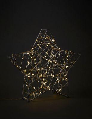 Small Light Up Star Decoration