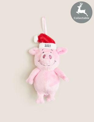 Plush Hanging Percy Pig™ Decoration