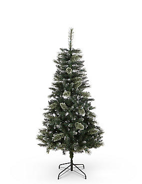 6Ft Crystal Pre Lit Christmas Tree, , catlanding