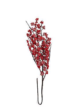 Winterberry Lit Twig, , catlanding