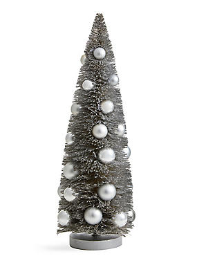 39cm Table Top Retreat Tree with Baubles, , catlanding