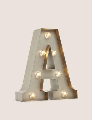 Metal Light Up Letter