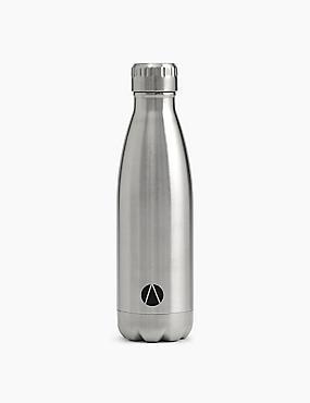 Stainless Steel Drinks Bottle, NO COLOUR, catlanding