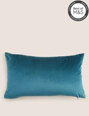 Velvet Medium Bolster Cushion