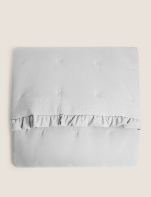 Washed Quilted Bedspread