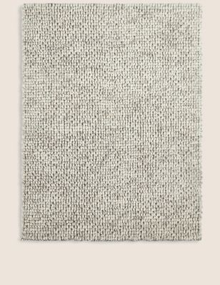 Wool Popcorn Woven Rug