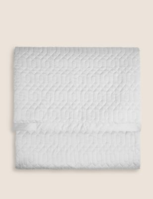 Satin Quilted Throw