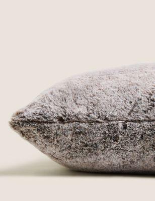 Luxury Large Faux Fur Cushion