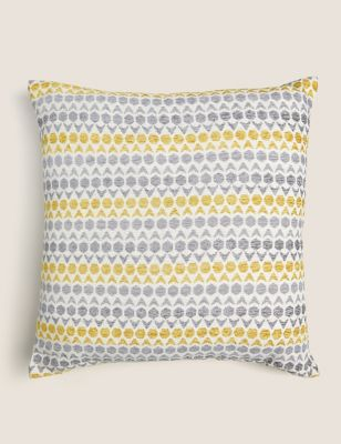 Hexagon Geometric Medium Cushion