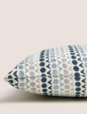 Hexagon Geometric Cushion