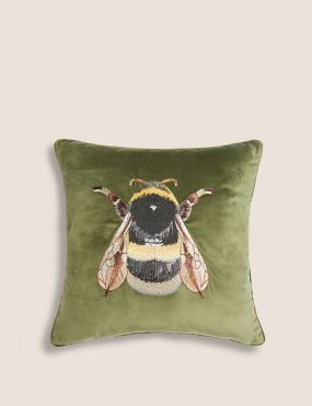 marks and spencer bee cushion nature interior trend home decor not just a tit