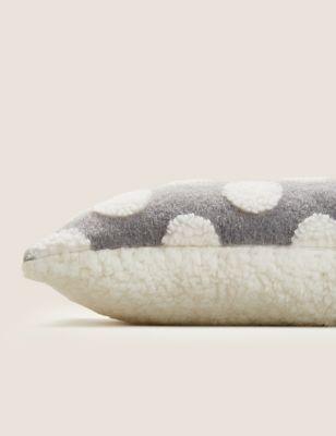 Polka Dot Small Bolster Cushion