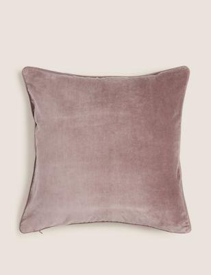 Pure Cotton Velvet Cushion
