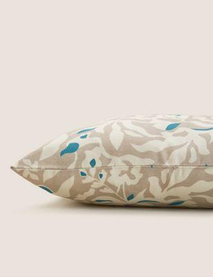 Pure Cotton Floral Medium Cushion Cover