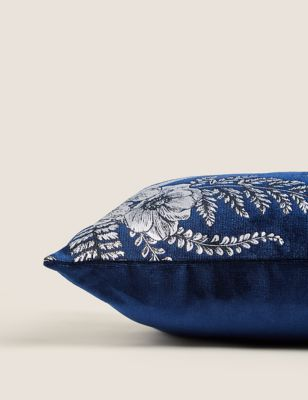 Foil Floral Cushion