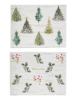Nature Christmas Charity Cards Pack of 20, , catlanding