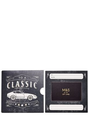 Classic Car Gift Card