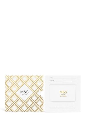 Gold Pattern Gift Card