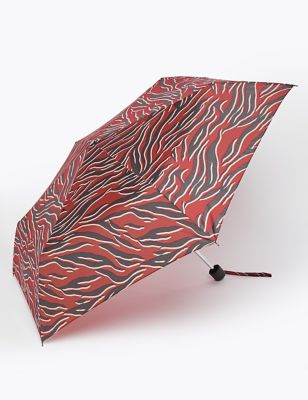 Animal Print Compact Umbrella