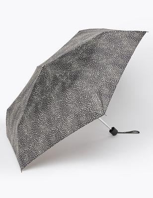 Polka Dot Compact Umbrella