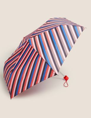 Striped Stormwear™ Compact Umbrella
