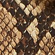 Faux Leather Saddle Cross Body Bag - naturalmix