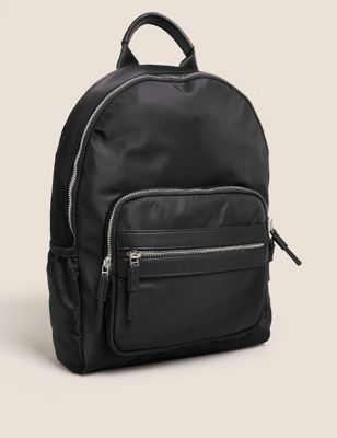 Nylon Zip Backpack