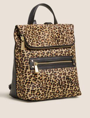 Leather Mini Backpack