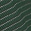 Leather Lizard Effect Waist Belt - forestgreen