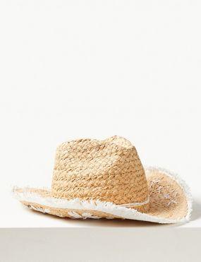 1b98ff57bd7 Embellished Cowboy Sun Hat. New