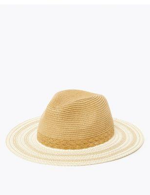 Textured Fedora Hat