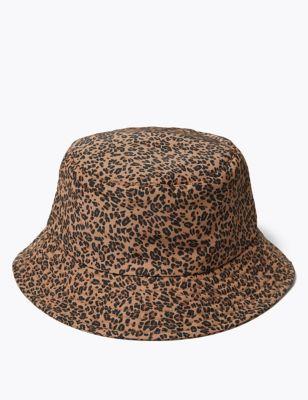 Animal Print Bucket Hat with Stormwear™