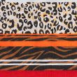 Pure Cotton Woven Printed Neckerchief - brownmix
