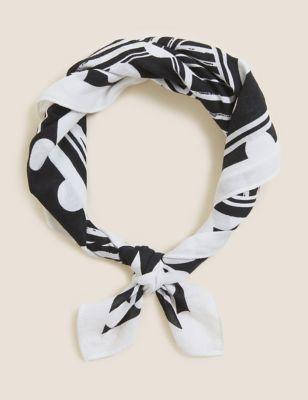 Pure Cotton Woven Printed Neckerchief