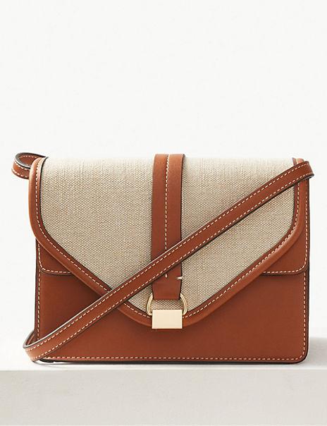 Contrast Cross Body Bag