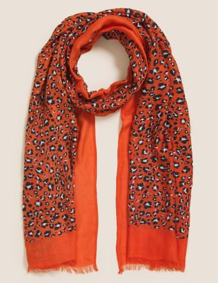 Animal Scarf with Modal