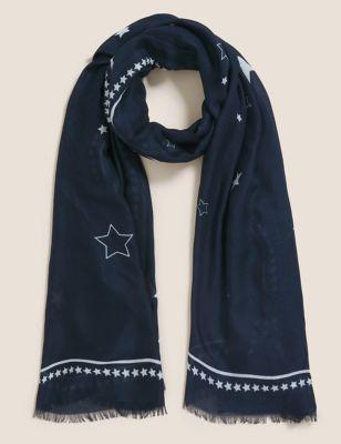Star Scarf with Modal