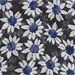 Printed Floral Scarf - navymix