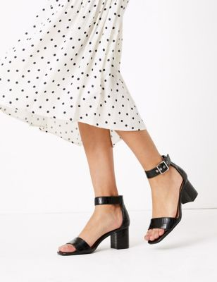 Ankle Strap Open Toe Sandals
