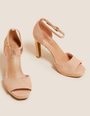 Ankle Strap Stiletto Heel Sandals