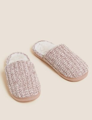 Mule Slippers with Secret Support
