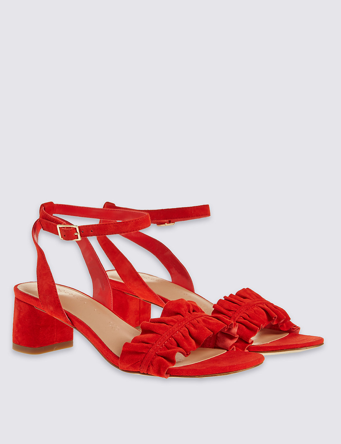 M&S Flame Suede sandals