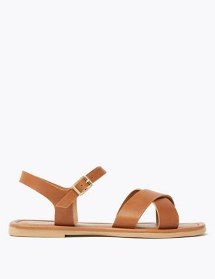 Leather Open Toe Sandals