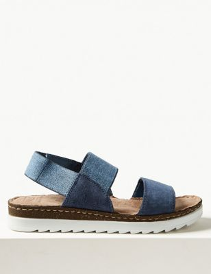 Suede Open Toe Sandals