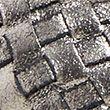 Leather Flat Ballet Pumps - metallic